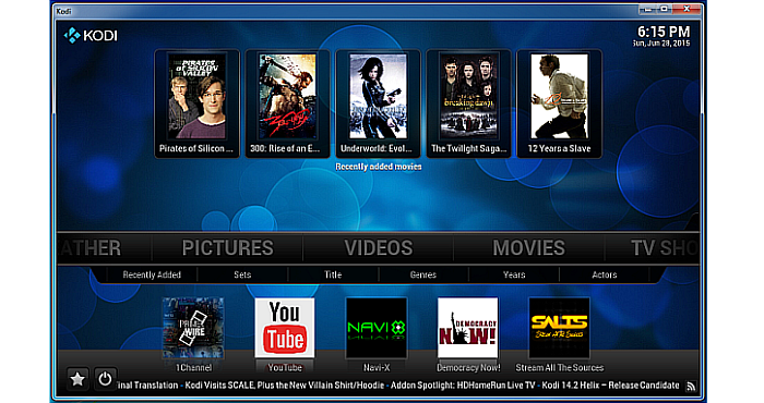What is the Kodi Software used for?